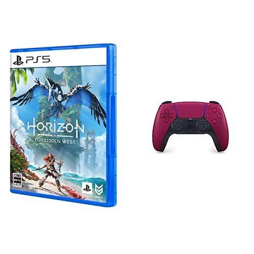 【PS5】Horizon Forbidden West + DualSense コズミック レッド セット