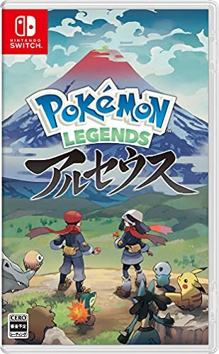 Pokémon LEGENDS アルセウス -Switch (【早期購入特典】プロモカード「アルセウスV」 ×1 同梱)