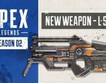 Apex Legends:シーズン2の新ゴールド武器「L-スター」詳細と武器バランス調整予定が公開