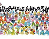 ポケモン金銀のぬいぐるみ127匹が発売!手のひらサイズの「Pokémon fit」第3弾