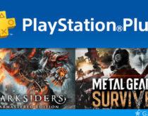 PS Plus 5月のフリープレイなどが一部公開!メタルギア サヴァイブ、Darksiders