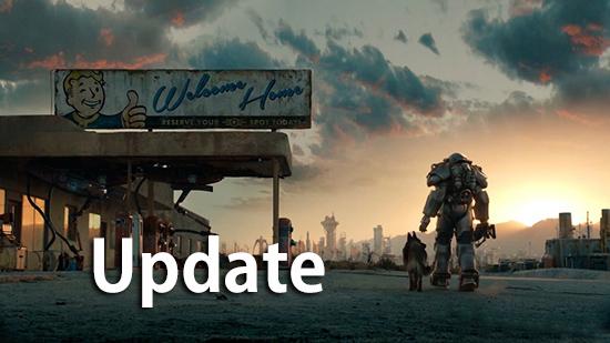 Fallout4 アップデート